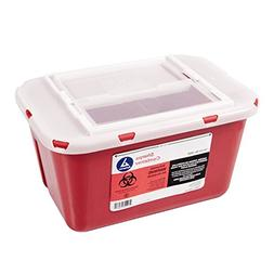 Dynarex Sharps Container - Biohazard Multiple-Use Needle Dis