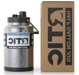 RTIC Stainless Steel 1/2 Gallon Jug, Holds the Ice Half the