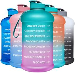 Venture Pal Motivational Water Bottle with Time Marker - 1 G