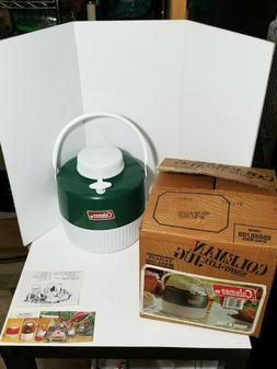 *Vintage Coleman Snow-Llight Jug 1-gallon Model 5506 Green/w