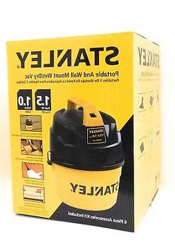 Stanley Wet/Dry Vacuum, 1 Gallon, 1.5 Horsepower